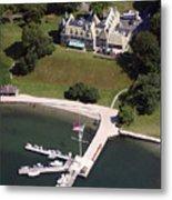 New York Yacht Club Harbour Court 5 Halidon Avenue Newport Ri 02840 3815 Metal Print