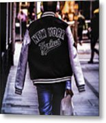 New York Yankees Baseball Jacket Metal Print