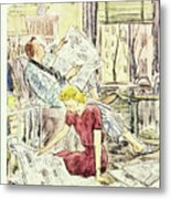 New Yorker March 21 1953 Metal Print