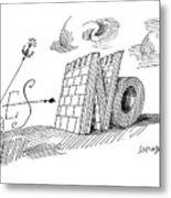 New Yorker May 28th, 1960 Metal Print