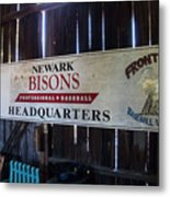 Newark Bisons Metal Print