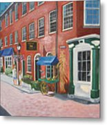 Newburyport  Ma Metal Print