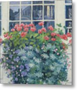 Newburyport Window Metal Print