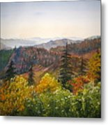 Newfound Gap Metal Print by Shirley Braithwaite Hunt