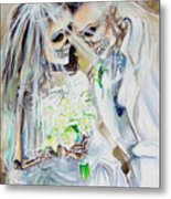 Newly Deads Metal Print by Heather Calderon