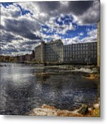 Newmarket Nh Metal Print by Eric Gendron