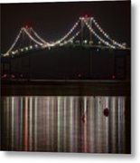 Newport Pell Bridge Metal Print