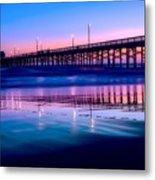 Newport Sunset Metal Print