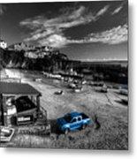 Newquay Harbour  Pickup  Metal Print