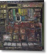 Newsstand Metal Print