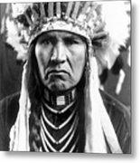 Nez Perce Native American Metal Print