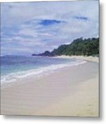 Ngliyep Beach Metal Print