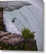 Niagara Fall Edge Metal Print