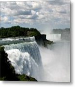 Niagara Falls American And Canadian Horseshoe Falls Metal Print