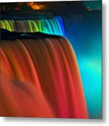 Niagara Falls At Night Metal Print