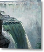 Niagara Falls Ny Metal Print