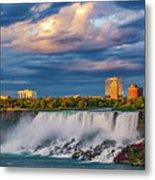 Niagara Falls - The American Side 3 Metal Print