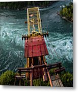 Niagara Falls The Whirlpool Metal Print