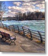 Niagara Rapids In Early Spring Metal Print
