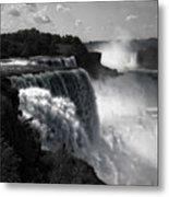 Niagara's Fury Metal Print