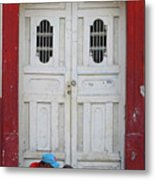 Nicaragua Door 1 Metal Print
