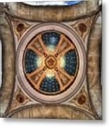 Niche Inlay At Our Lady Of Victory Metal Print