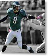 Nick Foles Eagles Super Bowl 2 Metal Print