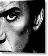 Nicolas Cage Metal Print