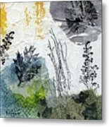 Night And Day In The Forest Metal Print