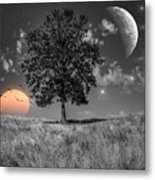 Night And Day Metal Print