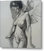 Night Angel Metal Print