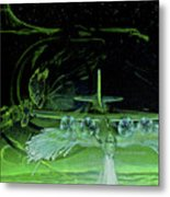 Night Angels Metal Print