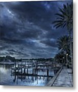 Night At The Bayou Metal Print