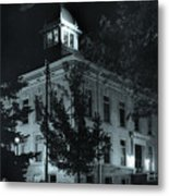 Night At The Court House Metal Print