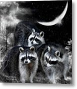 Night Bandits Metal Print
