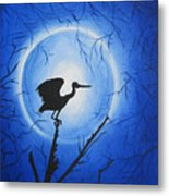 Night Bird Metal Print