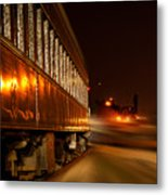 Night Coach Metal Print