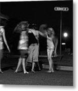 Night Dancing Metal Print