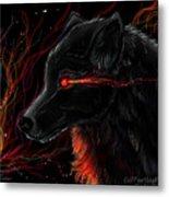 Night Eyes Metal Print