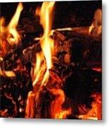 Night Fire  Metal Print