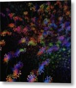 Night Flowers Metal Print