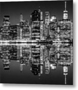 Night Grooves Metal Print