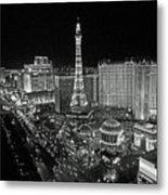 night in Vegas Metal Print