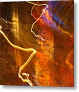 Night Lights 3 Metal Print by Layne Hardcastle