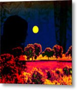 Night Loneliness Metal Print