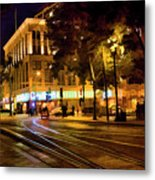 Night Moods San Jose Ca  Metal Print