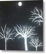 Night Of Lights Metal Print