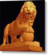 Night Of The Lion Metal Print