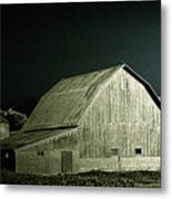 Night On The Farm Metal Print