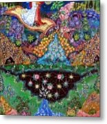 Night On The Magic Carpet Metal Print